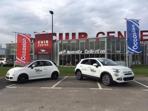 Exposition sur le Parking CUIR CENTER des véhicules FALVO AUTOMOBILES