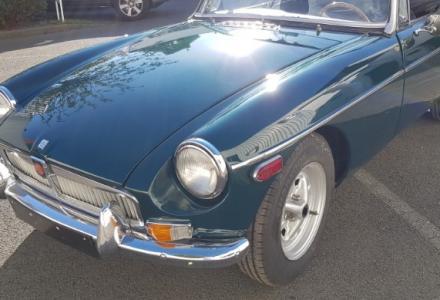MGB Carbiolet Vert 1971